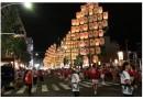 今週末は駅前通りが大騒ぎ「がいな祭り」の万灯!・・・